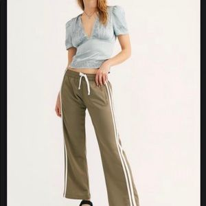 NWT Free People The Fawcett track pant